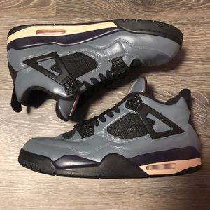 "Custom Air Jordan 4 ""Sacramento"" Size 11"
